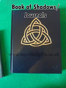 Wiccan / Pagan Triquetra Book of Shadows / Journal A4 Size #bookofshadows #journal #wiccan #witch #pagan