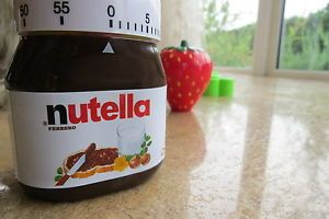 Kitchen Timer Nutella Jar