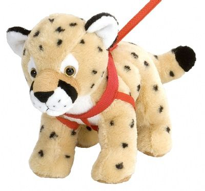 Wild Walkers - Cheetah at theBIGzoo.com, a family-owned toy store.