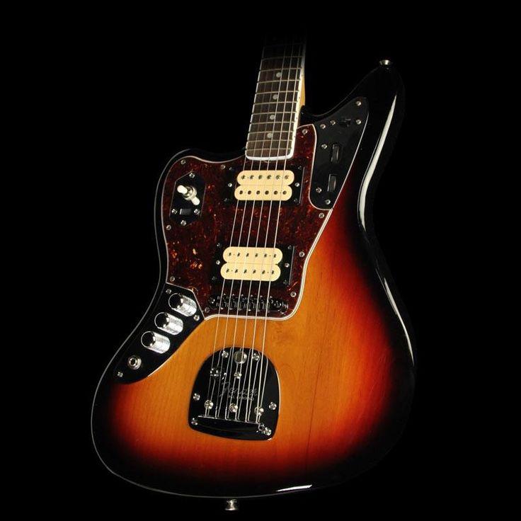 Fender Kurt Cobain Signature Jaguar Left-Handed Electric Guitar 3-Tone Sunburst