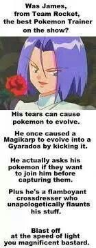 James from Team Rocket