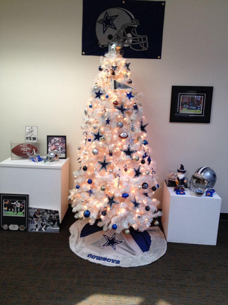 Dallas Cowboys Christmas Tree Dallas Cowboys Pinterest
