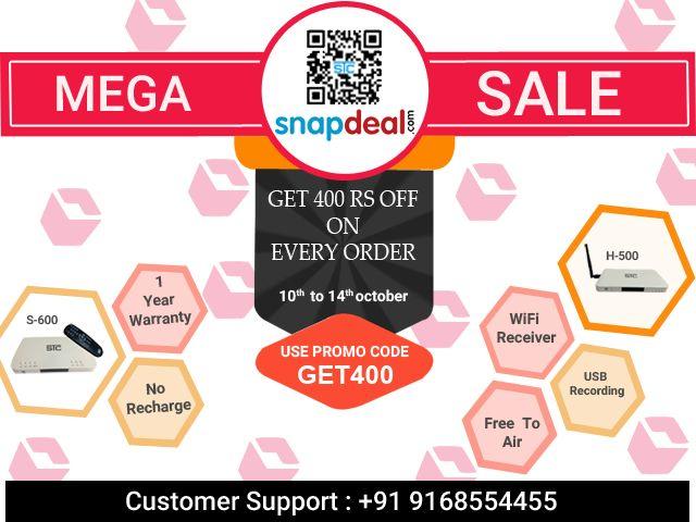 d0744eae96a  NavratriSale2018  LimitedTimeOffers  MegaSale  STC  SetTopBox  Snapdeal   Promocode  HappyNavratri