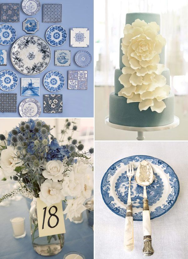 Willow-Blue Inspired Wedding