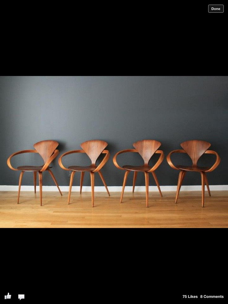 midcentury cherner armchairs one of my favourites