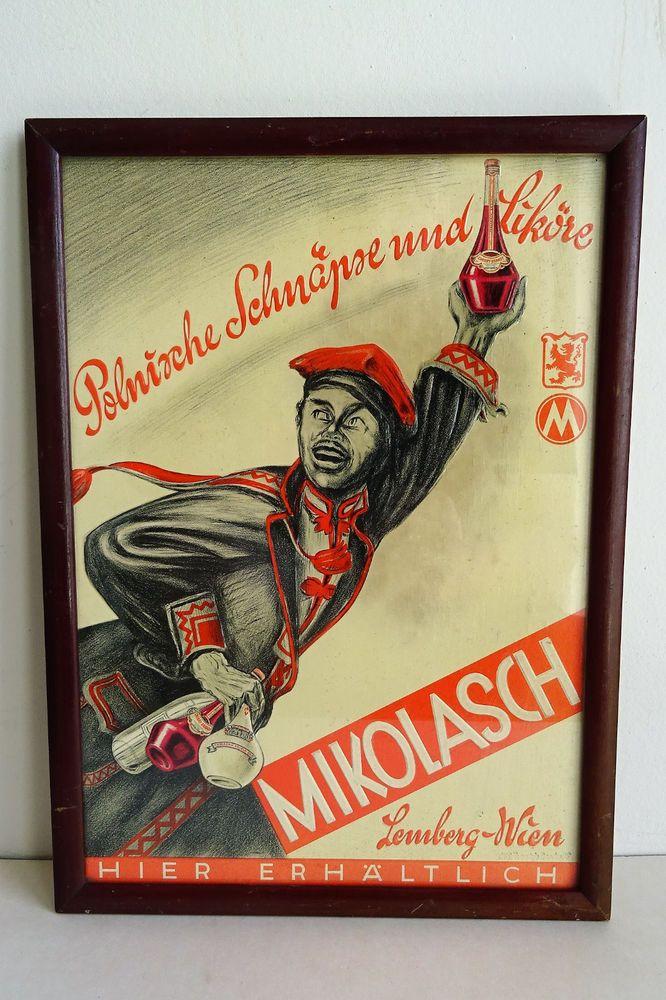 Original Reklame Werbung Polen Polska Wien - Lemberg Druck Dresden Feuerstein W.