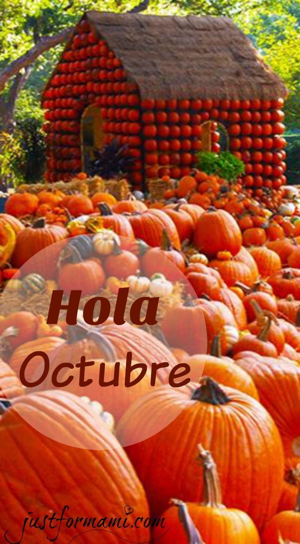 Hola Octubre, bienvenido
