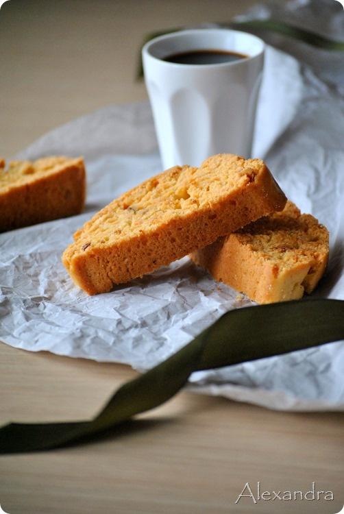 Παξιμαδάκια με αμύγδαλο - Almond biscotti @magyreuontas.blogspot.gr