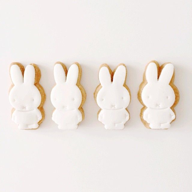 Wow! Look at these cute Miffy biscuits