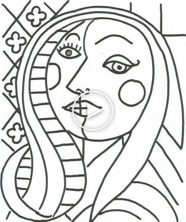 Pop Art Art Pop Popartdrawing In 2020 Pablo Picasso Art Picasso Art Picasso Drawing