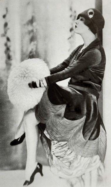 november 1927 Robe d'apres-midi par Jenny
