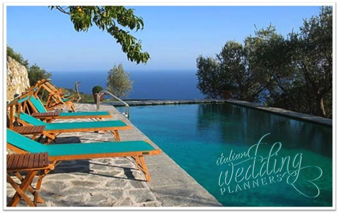 Relax and unwind, admire superb sea views and experience fine pampering Email our Cinque Terre wedding planners for info: info@italianweddingplanners.com