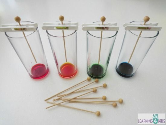 how to make sugar crystals rock candy on a stick - learning 4 kids