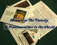 Memorize The Family: A Proclamation to the World.  Love how it defines the roles of Fathers and Mothers :)