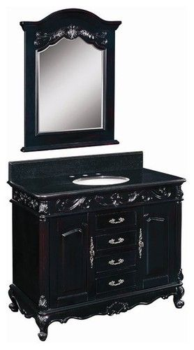 Belle Foret Model BF80164R Single Basin Vanity - bathroom vanities and sink consoles