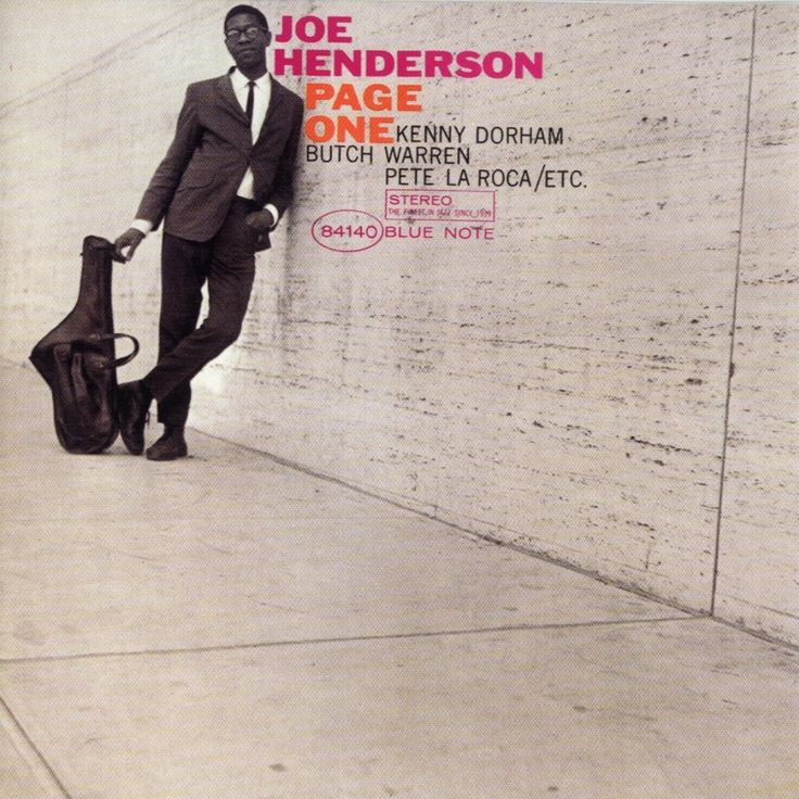 Joe Henderson - Page One (cover art: Reid Miles)