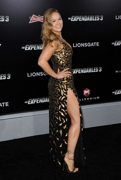 Ronda Rousey Photos: 'The Expendables 3' Premieres in Hollywood