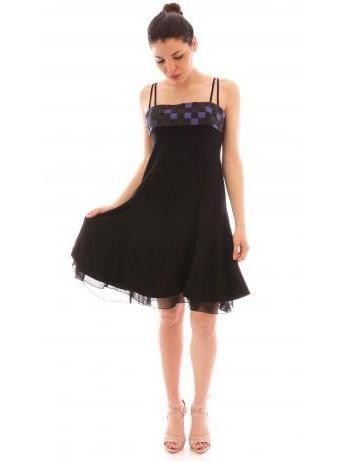 Armani Collezioni - Bustier evening dress in black