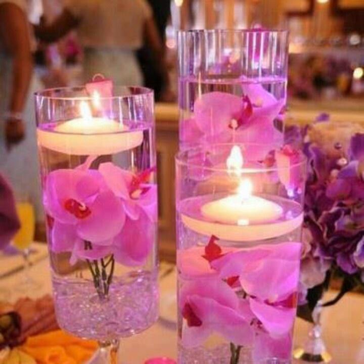 create unique weddings with the diy wedding ideas on hot pink beach wedding table decor floating candle beach wedding centerpiece