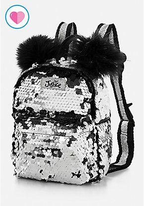 5927cbd180 Panda Flip Sequin Mini Backpack