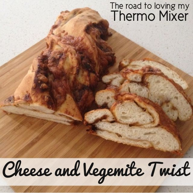 {Thermomix} Cheese & Vegemite Twist