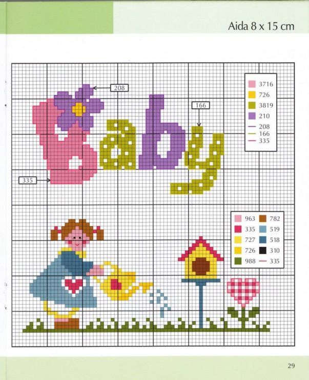 Use on baby cards and gifts