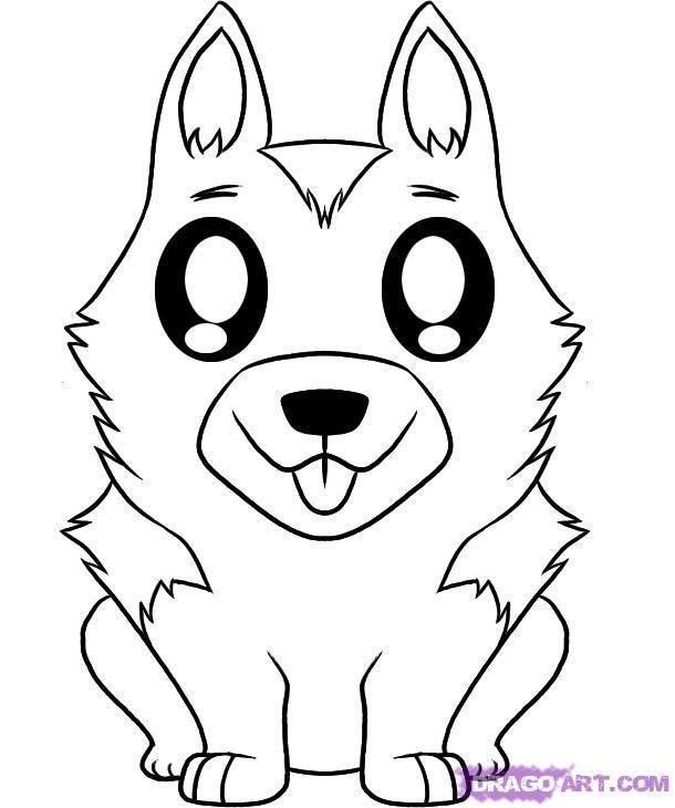 Husky Coloring Pages To Print