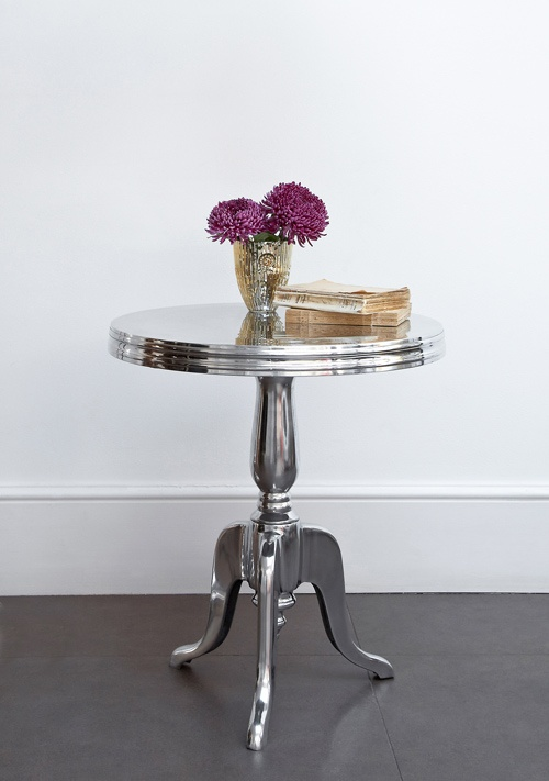 Polished Silver Side Table   Beautiful Modern Thing | UK Part 82