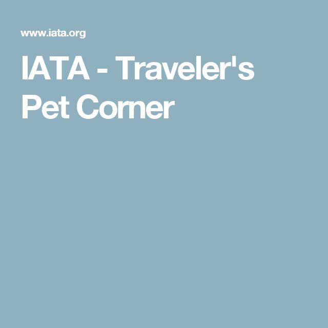 IATA - Traveler's Pet Corner