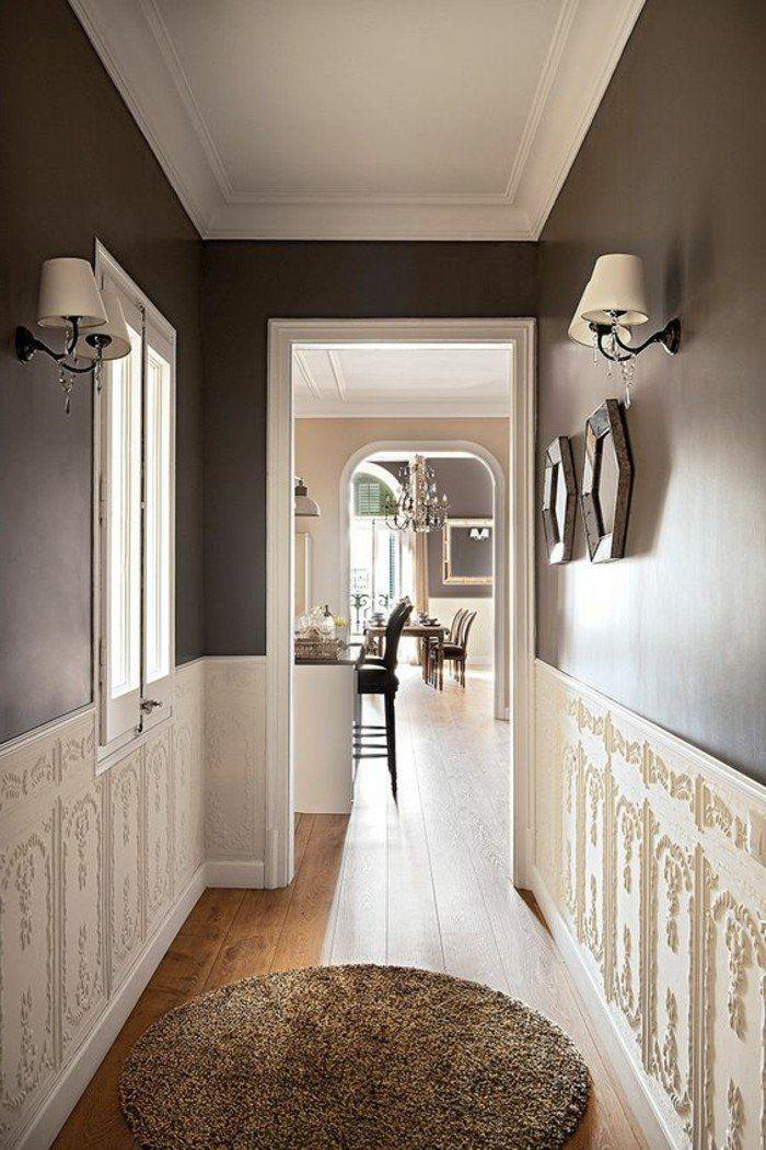 M s de 1000 ideas sobre papier peint couloir en pinterest for Revetement mural couloir