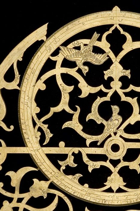 Closeup of Astrolabe with Volvelle, 1613?