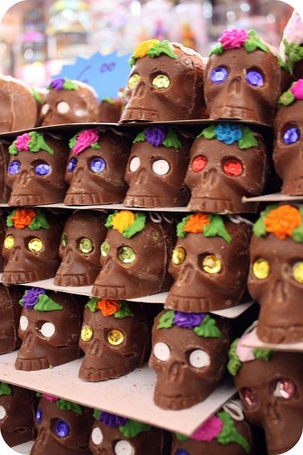 #sugar skull #chocolate