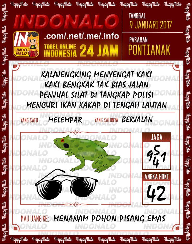 Kode Jaga 6D Togel Wap Online Live Draw 4D Indonalo Pontianak 9 Januari 2017