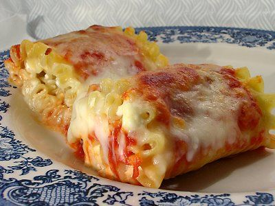 Lasagna Rolls by Giada~ Made these last night and our family of 4 ate all but one roll from a 13x9 dish!
