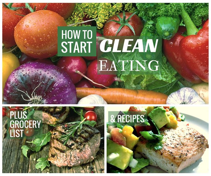 Get Your FREE Clean Eating Starter Guide! Complete With Grocery List and Recipes!
