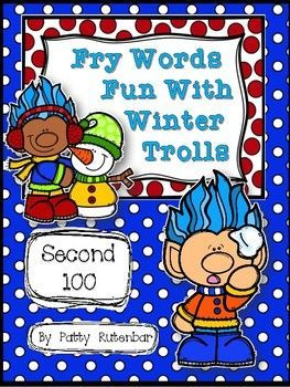 If your'e looking for a game to help your students learn those 2nd 100 Fry Words, then this game is just what you need. This game works great in a center, a small group with adult supervision, or a Response To Intervention group. I am an interventionist with 1st and 2nd graders and this game works great in small groups.