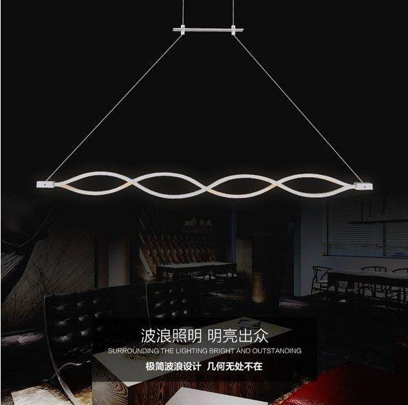 Kreative Welle Design Acryl Droplight moderne Anhänger Leuchten für Wohnzimmer Esszimmer führte hängende Lampe Innenbeleuchtung in Spezifikationen Licht Informationen Typ Pendelleuchten Merkmale LED Stil Mod aus Pendelleuchten auf AliExpress.com | Alibaba Group