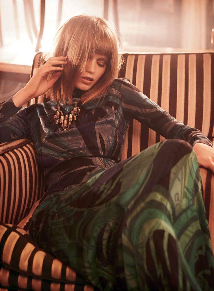 Abbey Lee Kershaw for <em>Vogue Australia</em> November 2010 by Nicole Bentley