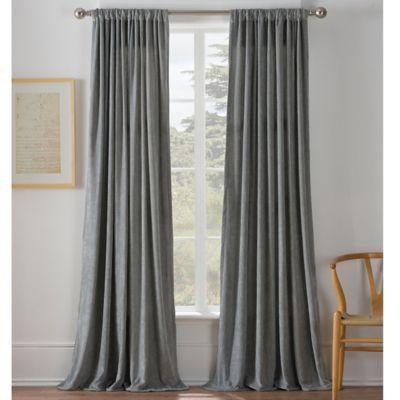 Warren Window Curtain Panel Bedbathandbeyond Com In Blue