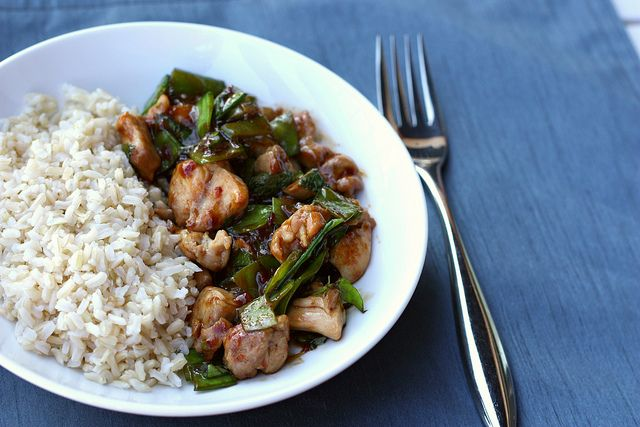 spicy basil chicken | Take-out Fake-out | Pinterest