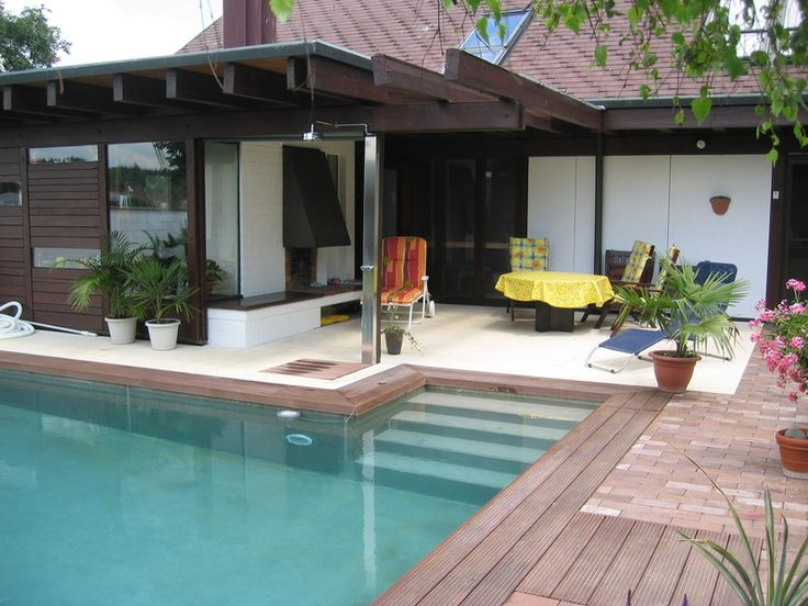 Pool aus Sichtbeton - kopfdesign - ninjo - Betonpool