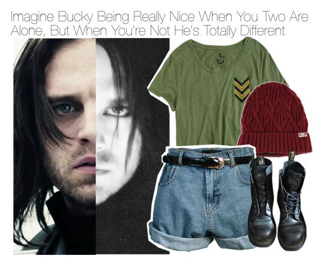 """Imagine Bucky Being Really Nice When You Two Are Alone, But When You're Not He's Totally Different"" by xdr-bieberx ❤ liked on Polyvore"