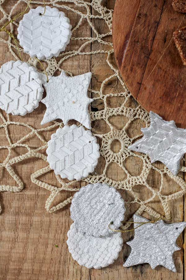 How To Make Gluten Free Salt Dough Ornaments {Beard and Bonnet}