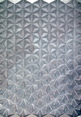 "Saatchi Art Artist Dominika Kaczmarczyk; Installation, ""Origami silver"" #art"