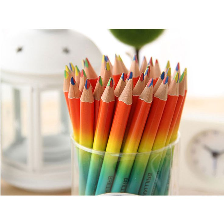 Brilliance 4in1 Color Pencil pencil dengan langsung macam warna check this goo.gl/hlEhIA