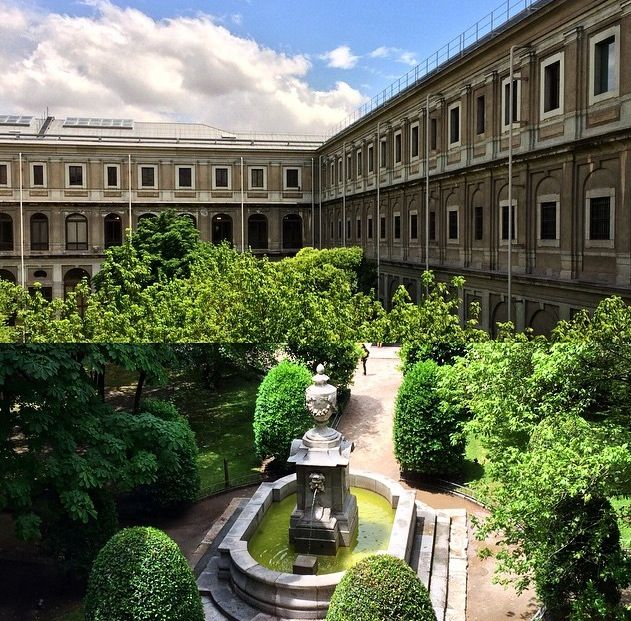 Jardín museo Reina Sofía (Madrid)