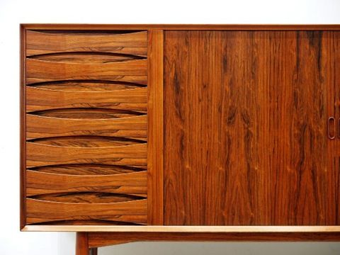 Arne Vodder Teak Kitchen Cabinets