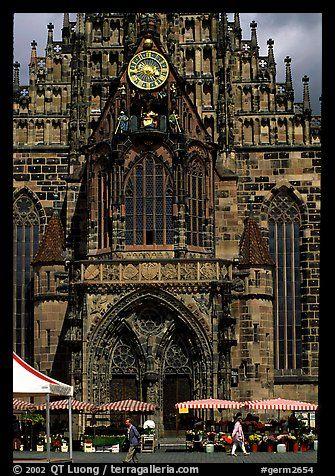 Liebfrauenkirche (church of Our Lady). Nurnberg, Bavaria, Germany