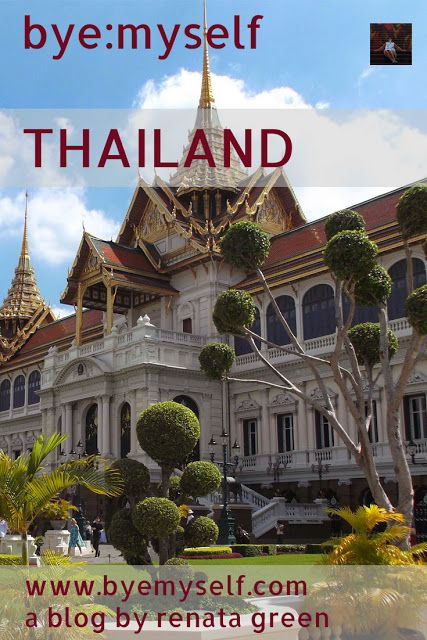 Detailed Information on travelling Thailand bye:myself