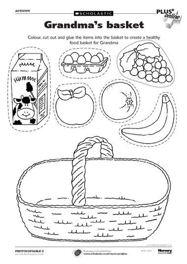 10 best images about little red riding hood activities on for Little red riding hood coloring pages printable